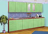 Кухня Карина (МДФ фантазийный) комплектом и посекционно, фото 7