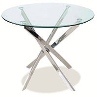 Стеклянный стол Agis