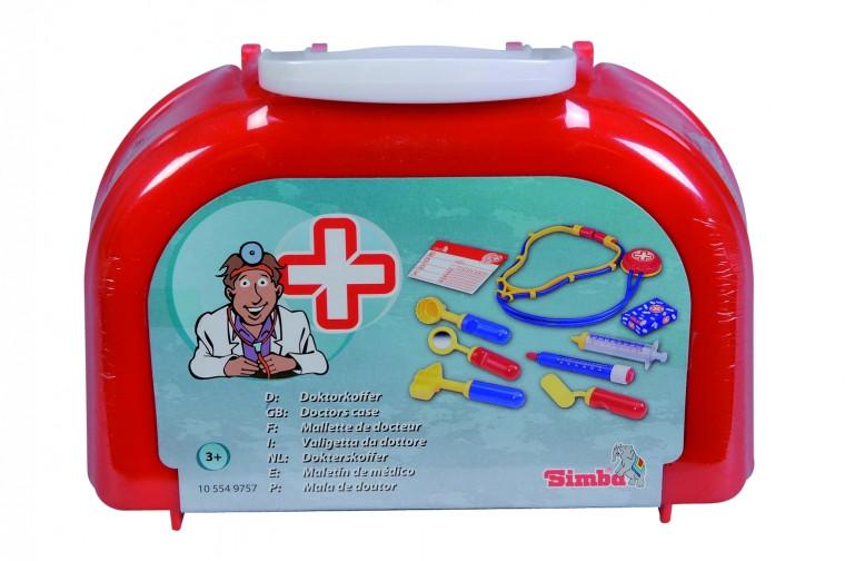 Набор доктора, 10 предметов (20 × 13 см), SIMBA (554 9757) - Интернет-магазин Игрушки в Киеве