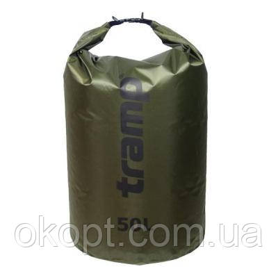 Гермомешок Tramp PVC Diamond Rip-Stop оливковый 50л (TRA-208-olive)