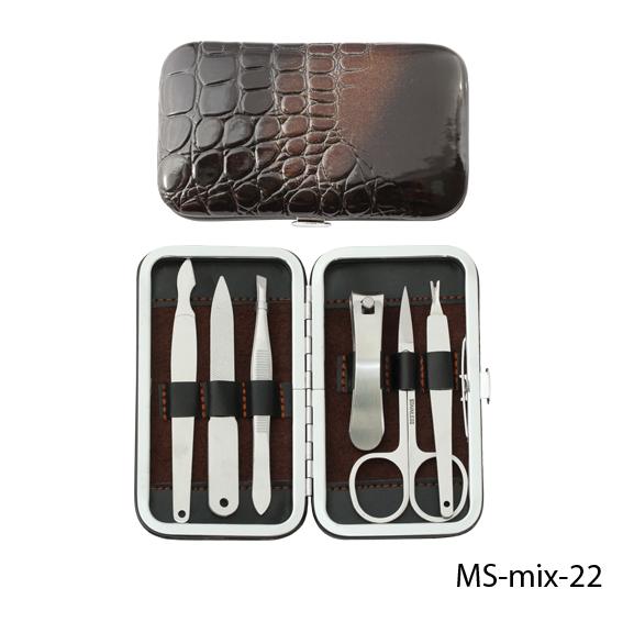 Маникюрный набор в стильной упаковке Lady Victory LDV  MS-mix-22 /17-3