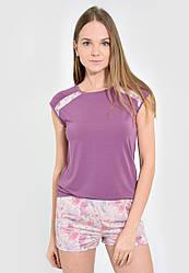 Пижама женская шорты футболка