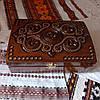 Шкатулка дерев'яна різьблена 21*15 для прикрас, ручна робота, фото 4