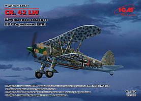 CR. 42 LW. Сборная модель самолета. 1/32 ICM 32021