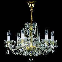 Хрустальная люстра 6 ламповая для спальни, зала