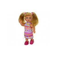 Эви в летней одежде, (разноцветное платье), кукла, Steffi & Evi Love (573 7988-1)