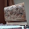 Шкатулка резная из дерева 21*15 с бархатом ручной работы, фото 2