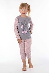 Пижама для девочки хлопок и красивая печать