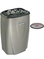 Электрокаменка HARVIA Moderna V 80 E-1 (Champagne,Platinum,Titan) (7-12 м3, 8 кВт, 20 кг камней, 220 В)