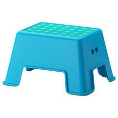 IKEA (902.913.30) БОЛЬМЕН Підставка-сходинка - синій