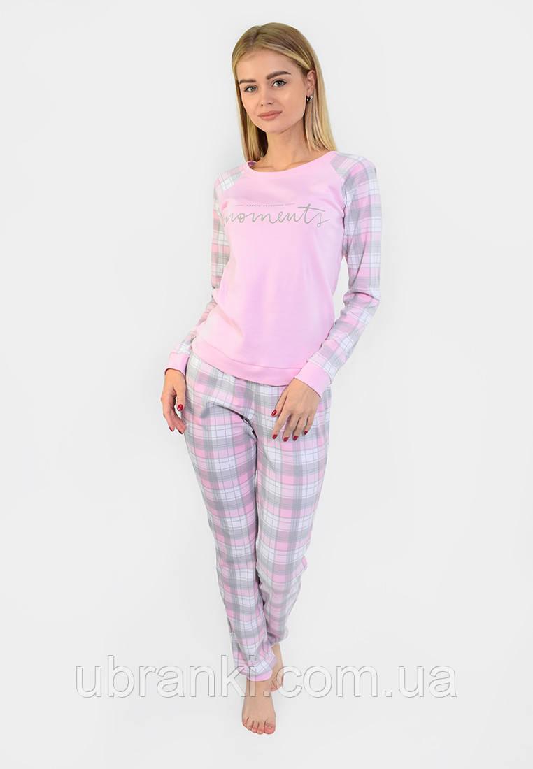 Пижама женская в клеточку для сна и дома