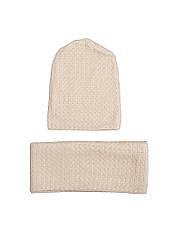 Демисизонный комплект (шапка, шарф)