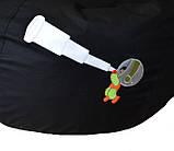 Кресло мешок груша пуф бескаркасное капля для детей Космос, фото 6