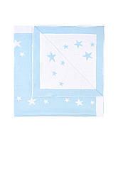 Вязаное покрывало для новорожденных