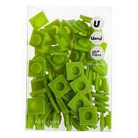Пиксели Big зеленые, 80 шт, Upixel (WY-P001J)