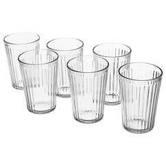IKEA VARDAGEN (002.869.17) Склянка, прозоре скло 31 сл