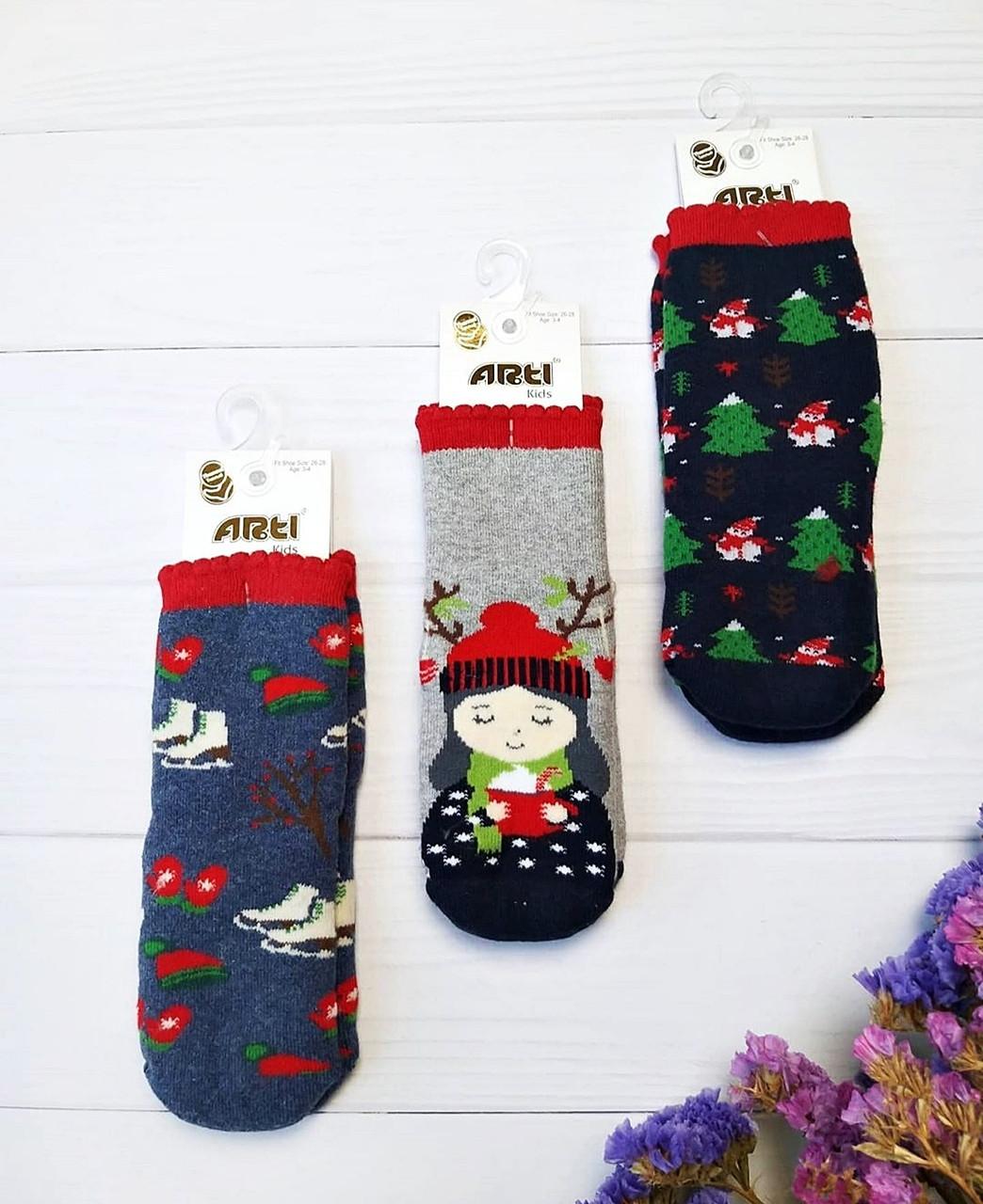 Махровые носки для девочек 1-2 года ТМ Arti Турция оптом