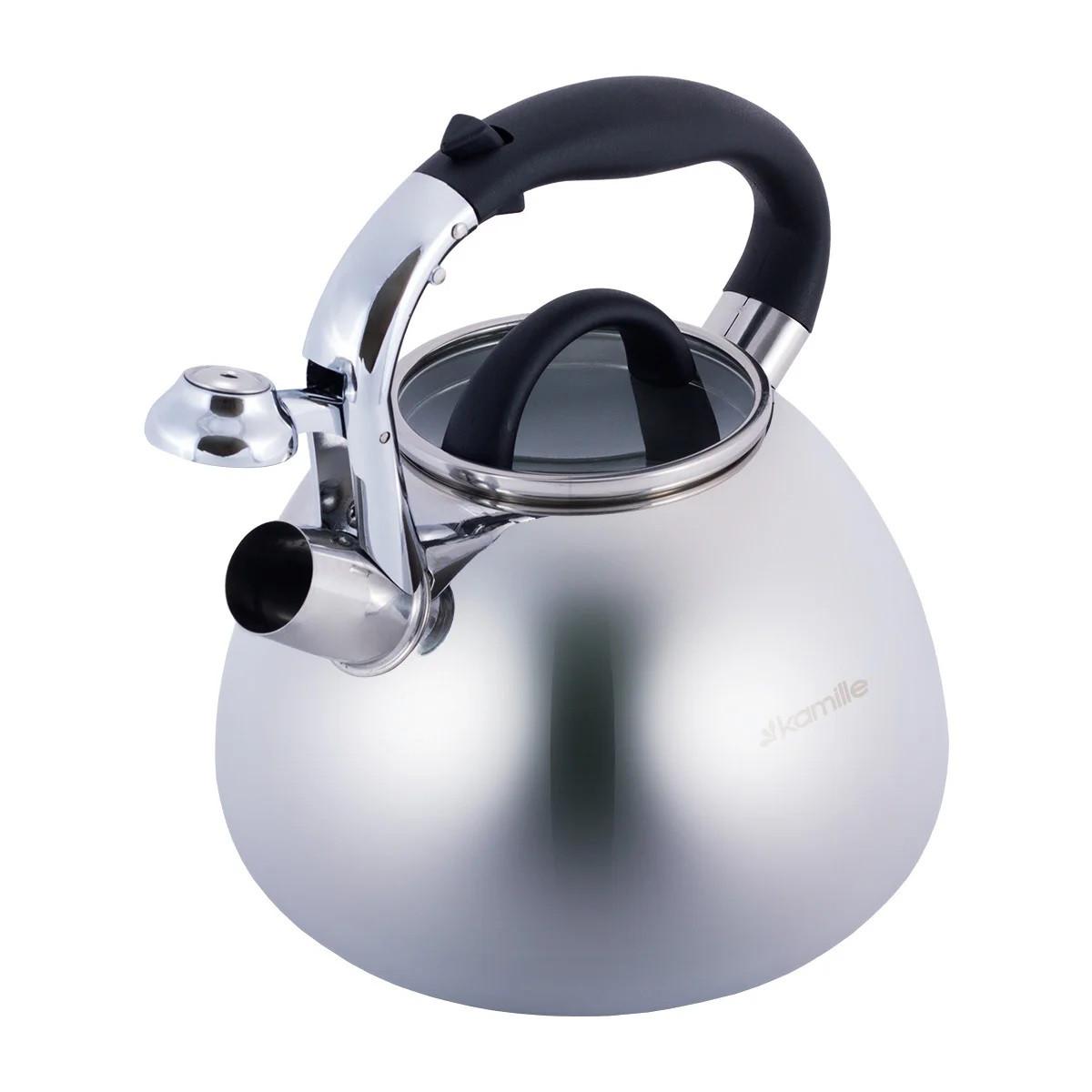 Чайник Kamille со свистком и бакелитовой ручкой 2,8 л