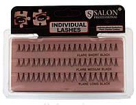 Ресницы пучковые Salon mix