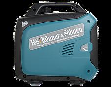 Генератор инверторный Konner&Sohnen KS 2000i S (2кВт), фото 2