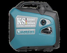Генератор инверторный Konner&Sohnen KS 2000i S (2кВт)