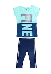 Комплект для девочки (футболка, бриджи)