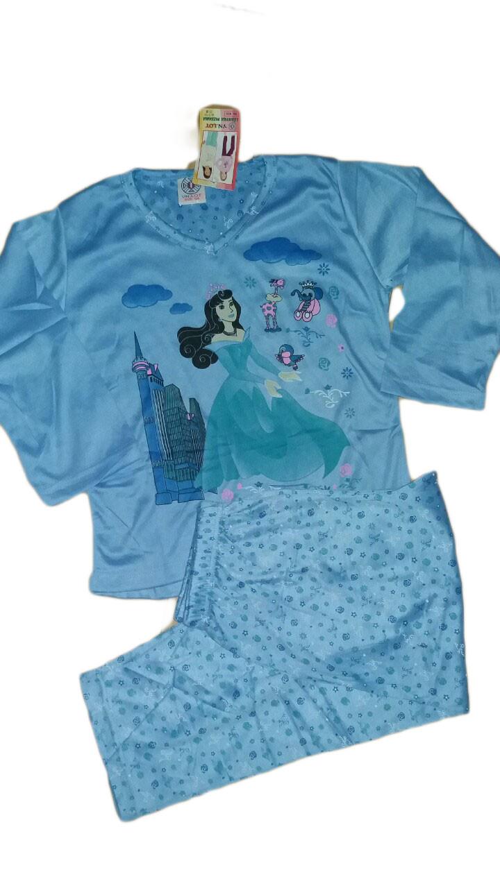 Пижама для девочек трикотажная, размеры 134-164,  арт. 455