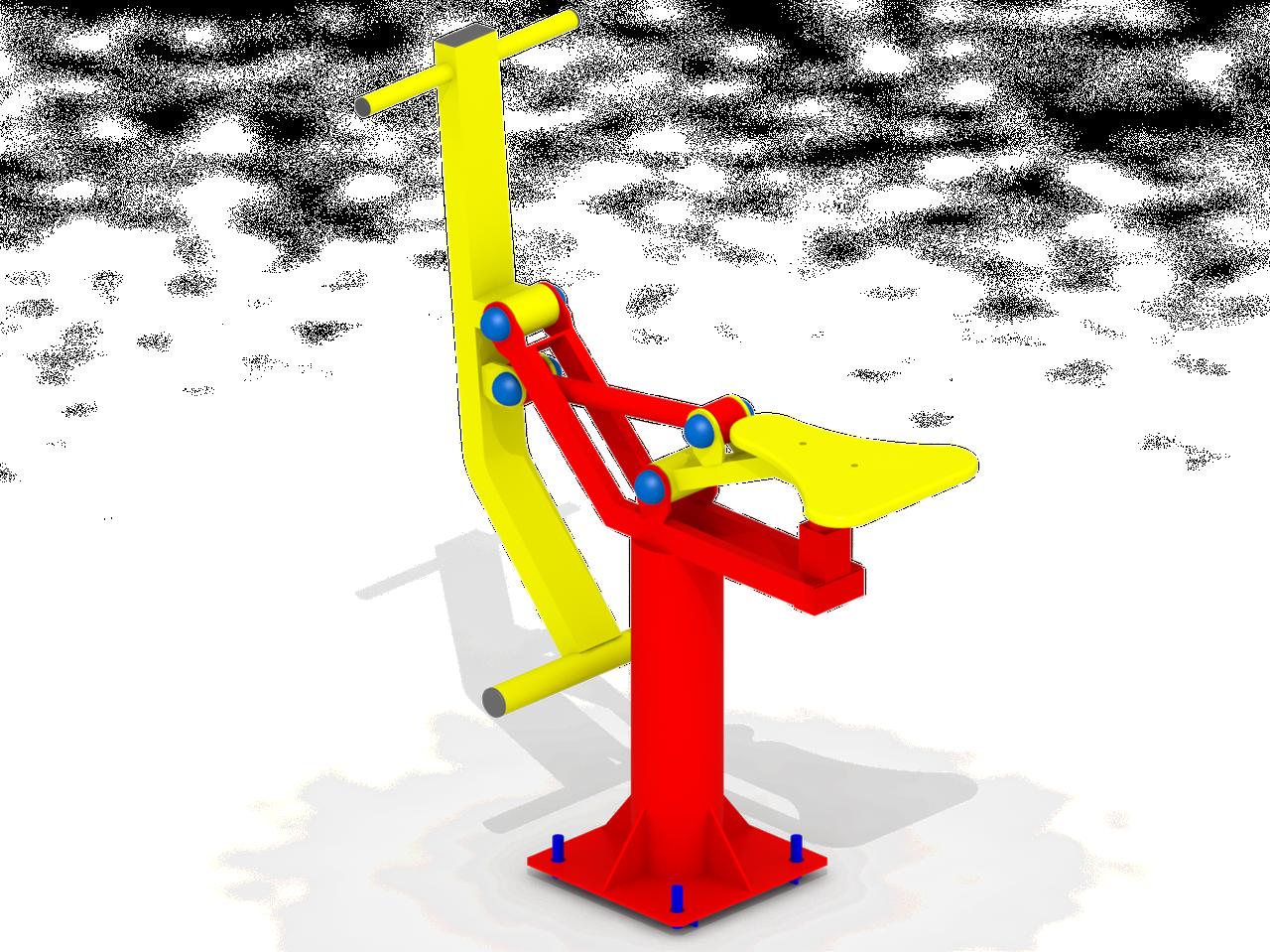 Тренажер вуличний