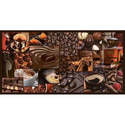 Декоративная Настенная Панель ПВХ Grace (Мозаика аромат кофе)