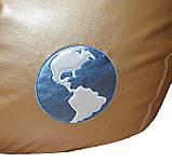 Кресло-груша бескаркасная пуф детский мягкий Космос, фото 5
