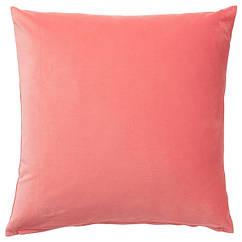 IKEA SANELA (004.473.12) Чохол для подушки , світлий коричнево-червоний 65x65 см