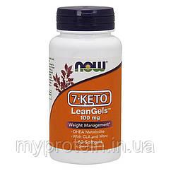 NOW 7-KETO  LeanGels 100 mg60 softgels