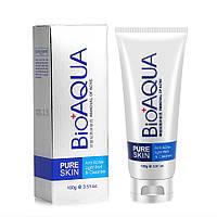 Пенка для умывания BIOAQUA Pure Skin Anti Acne-light Print & Cleanser 100 г