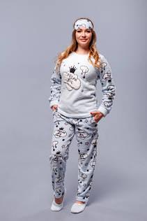 Женские флисовые пижамы