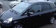 Дефлекторы окон Honda Jazz I/Fit 2002-2008