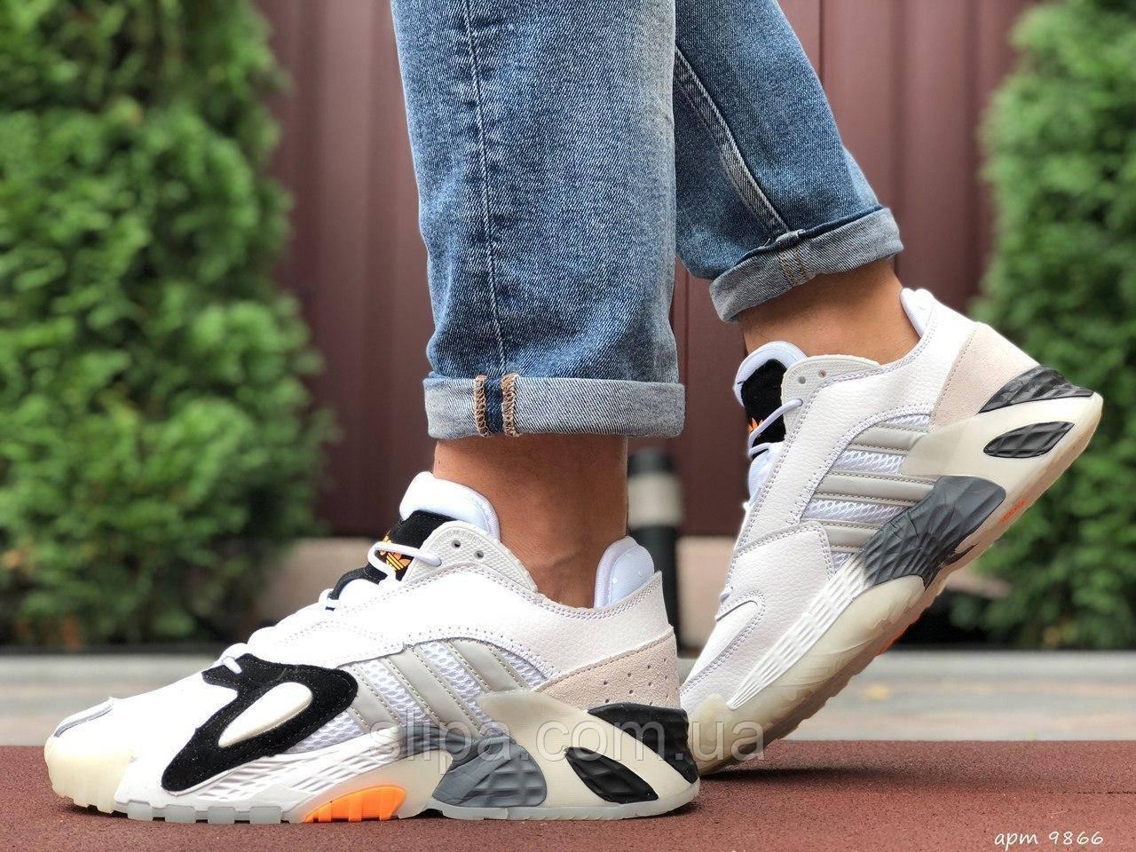 Чоловічі кросівки Adidas Streetball білі 46 розмір