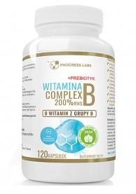 Витамин Б PROGRESS LABS - Vitamin B Complex 200% RWS