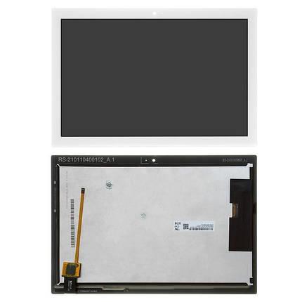 Экран (дисплей) для планшета Lenovo Tab 4 TB-X304N 10 с сенсором (тачскрином) белый Оригинал, фото 2
