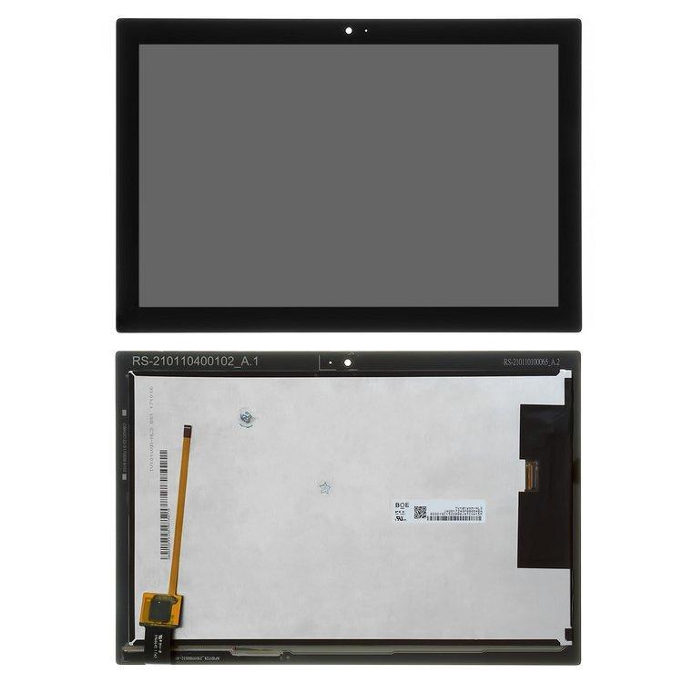 Дисплей (екран) для Lenovo Tab 4 TB-X304N 10 з сенсором (тачскрін) чорний