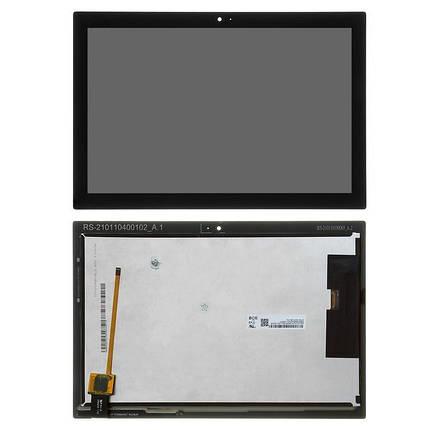Дисплей (екран) для Lenovo Tab 4 TB-X304N 10 з сенсором (тачскрін) чорний, фото 2
