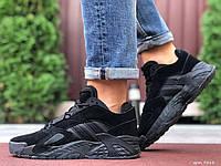 Чоловічі замшеві кросівки Adidas Streetball чорні 46 розмір, фото 1