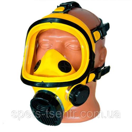 Захисна повна панорамна маска ППМ - 88 ( жовтого кольору )