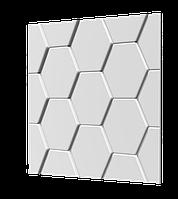 Гипсовые 3D (3д) панели Черепица Texturo