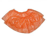 Бахилы одноразовые, оранжевые