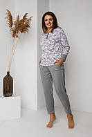 Костюм женский домашний, большой размер Nicoletta 30015