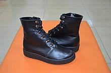 Подростковые ботинки на мальчика кожаные зимние и демисезонные от производителя KARMEN 153017