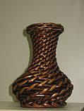 Ваза, плетена, лоза, М 20 см, Декор для дому, Дніпропетровськ, фото 2