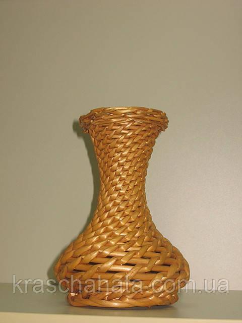 Ваза, плетена, лоза, М 20 см, Декор для дому, Дніпропетровськ