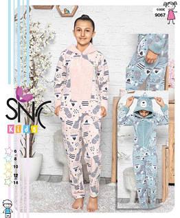 Детские флисовые пижамы Турция