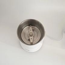 Кофемолка бытовая измельчитель нержавеющая сталь D&T Smart DT-594 200Вт, фото 3